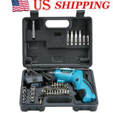 4.8V Electric Screwdriver Multifunctional Charging Hand Drill Screw Batch Set