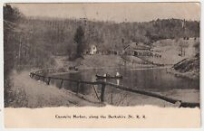 BERKSHIRE STATE RAILROAD CHESHIRE HARBOR 1909 TO ROY SILVERTHORN, PORT DOVER, ON