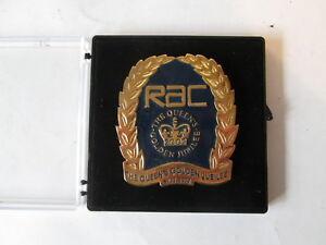 RAC Queen's golden Jubilee badge. AA badge. motor club badge. car badge