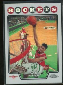 2008 Topps Chrome Rockets Yao Ming #11 Refractor