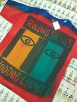 NWT Vintage Rolling Stones Voodoo Lounge Tour Shirt 90s 1994 Tie Dye Size XL New