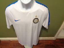 Nike INTER MILAN ITALIA SOCCER Jersey White SIZE MENS SMALL