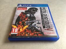 THE DEFINITIVE EXPERIENCE METAL GEAR SOLID SONY PLAYSTATION 4 PS4 EDITION FR PAL