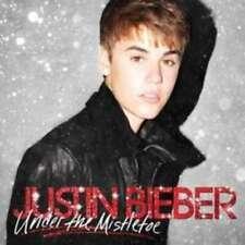 Under The Mistletoe - Bieber Justin CD & DVD Set Sealed ! New !