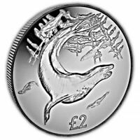 South Georgia 2018 Leopard Seal Uncirculated Cupro Nickel Coin
