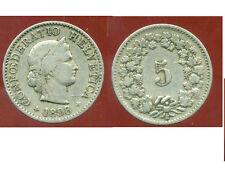 SUISSE 5 rappen 1898   ( bis )