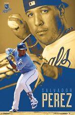 SALVADOR PEREZ - KANSAS CITY ROYALS POSTER - 22x34 MLB BASEBALL 15656