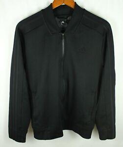 Adidas Black Full Zip Track Jacket Size M