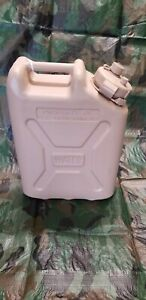Military Water Can 5 Gallon Tan Scepter Style Jerry Can Water Jug New