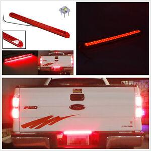 Waterproof Red 23 LED Car Pickup Truck Tailgate Light Bar Brake Indicator Light