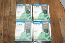 (Lot of 4) Orbit 3/4 in. FPT Auto In-Line Sprinkler Valve Heavy Duty 57280