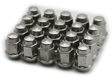 12x1.5 Chrysler Dodge Ford GM FACTORY Genuine OEM Stainless steel lug nuts x20