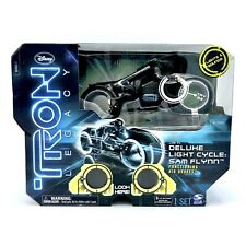 Deluxe Light Cycle Sam Flynn - New In Box - Tron Legacy - Spin Master
