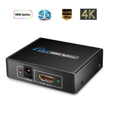 TBA 1×2 HDMI Splitter v1.4D View 4K 3D 1080p One Input to Two Output Top EC