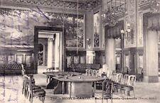 MONTE-CARLO 706 salle du trente-quarente archi touzet timbrée MONACO 1904