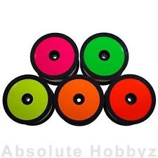 DE Racing 1/10 Buggy Wheel Sticker Disk (Orange) (8pcs) DER-SD1-O