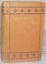 1873 A FAIR SAXON Justin McCarthy Irish Literature