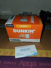 Dunkin Donuts 'Dunkin Pumpkin Spice keurig Coffee 12 K-cups Official Dunkin'