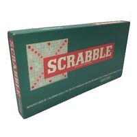 Spear's Games Vintage Scrabble 1950s Board Tile Word Game 100% Complete Ex Cond