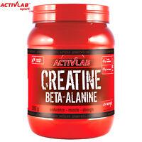 CREATINE BETA ALANINE 300g ANABOLIC POWDER MUSCLE GROWTH & ENERGY & ENDURANCE