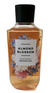 Bath & Body Works ALMOND BLOSSOM Shea & Vitiman E Shower Gel 10 Fl Oz Body Wash