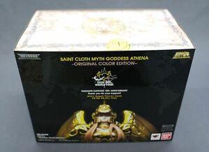 Saint Seiya Myth Cloth Goddess Athena Original Color OCE Tamashii10th Bandai NEW
