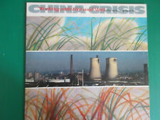LP CHINA CRISIS WORKING WITH FIRE AND STELL  NUOVO 1983 TEXTS LOOK