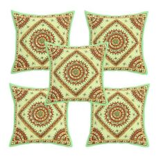 Traditional Indian Hand Work With Mirror Cushion Cover Pillowcase Cover