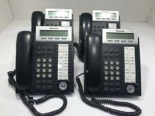 4x Panasonic KX-DT333AK-B Digital Proprietary Telephone Handsets