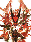 Alex Ross SIGNED World's Greatest Super-Heroes Giclee on Canvas Limited Ed of 50