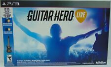 Guitar Hero Live Bundle PS3 (Sony Playstation 3, 2015) Brand New Factory Sealed