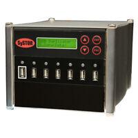 SySTOR 1-6 Standalone Multiple USB Port Duplicator Flash Drive Cloner Sanitizer