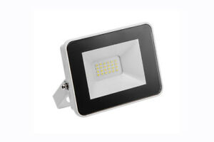 LED Außenstrahler Fluter Slim 10W, 20W, 50W, 100W, 6400K, Kaltweiß, IP64