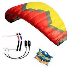 5m² Quad Line Powerkite Traction Kite Trainer Kite Kiteboarding Kitesurfing