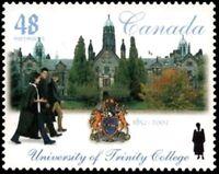 Canada    # 1943  VF-NH   TRINITY COLLEGE   New Issue 2002 Original Gum