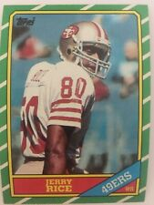 1986 Topps Football Complete Set w/ Rice, Young, Other Rookie Cards Great Edges!