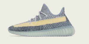 """Adidas Yeezy Boost 350 """"Ash Blue"""" GY7657 Mens Size 11.5 Brand New 100% Authentic"""
