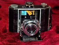 Art Deco Camera Kodak 620 Duo /Carl-Zeiss Jena Nr.2327861 Tessar 1:3.5 f=7.5cm