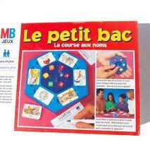 """Jeu De Societe """" Le Petit Bac """" La Course Aux Noms Par Mb"""