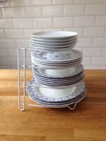 Hot Plates, Pan and Pot Organizer Rack Stainless Kitchen Rack Frying Pan Stand