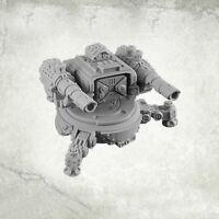 Legion Turret Sentry Gun: Twin Lascannon Kromlech Resin KRM090