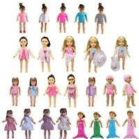 Clothes Swimwear Swimsuit Dress for 18 inch  Doll