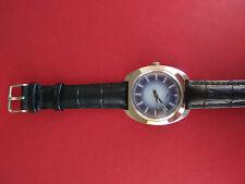 Rare Swiss CORTEBERT 17 Rubis Two Tone Dial Men's Wristwatch