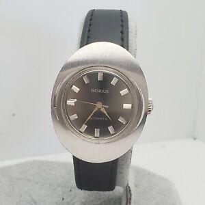 Vintage BENRUS Automatic ladies watch Model GG 1D4 swiss ETA 2550 27mm 1960S