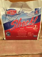 HTH 52023 Super Shock Treatment Swimming Pool Chlorine Cleaner 1 lb Pack of 6 US