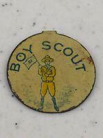 Vintage Boy Scouts Cub Scouts Metal Pinback Pin Button Badge