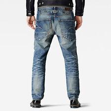 NEW RRP $289 Mens Stunning G-Star Raw 'BLADES TAPERED' Dark Indigo Jeans W28 L32