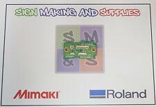 Genuine Roland Soljet Pro Ii Sc545 Ex Grit Encoder Board Assy W811904240