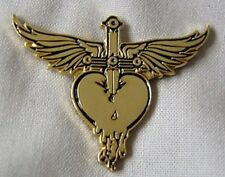 *NEW* Bon Jovi 'Greatest Hits' metal pin badge. Jon Bon Jovi