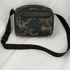 Mens Coach Crossbody Camouflage Shoulder Bag